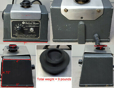 Deluxe Mixer Model S8220, 115VAC, Hand Switch or Continuous. TESTED.