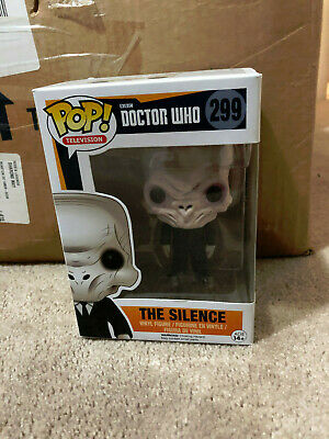 Funko POP Vaulted 2015 DOCTOR WHO - THE SILENCE #299 w/ protector