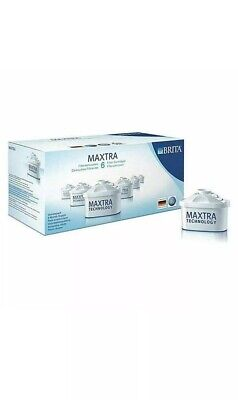 NEW BRITA MAXTRA+ Water Filter Cartridge Refill With Microflow Technology 6 Pack