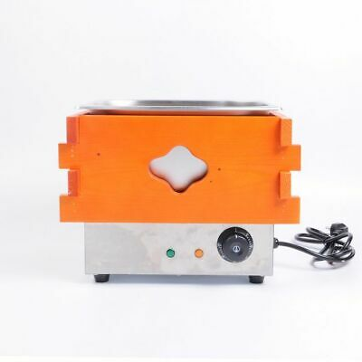 WOO Commercial Electric Oden Pot Stainless Steel Food Machine with Wooden Shell