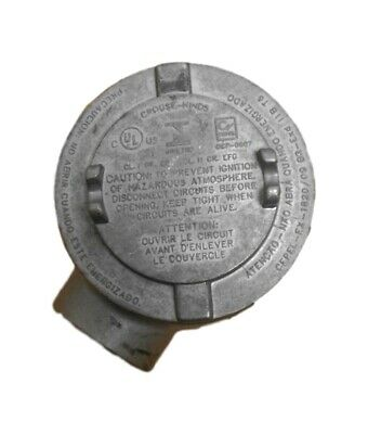 Cooper Crouse-Hinds GUAB69 Explosion-Proof Conduit Outlet Box