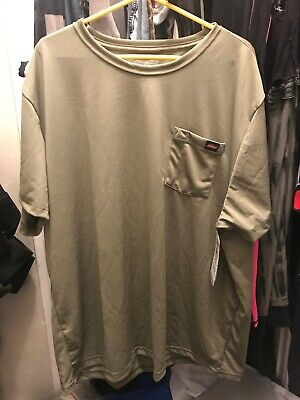 Genuine Dickies #8274 NEW Men/'s Relaxed Fit Moisture Wicking Pocket Tee