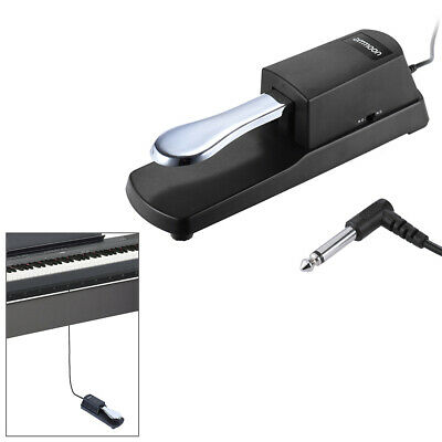 Sustain Foot Pedal Damper Polarity Switch Universal fr Electric Piano Music Z7I0