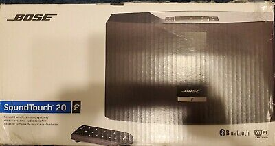 NEW Bose SoundTouch 20 Series III wireless speaker BLACK Factory Sealed
