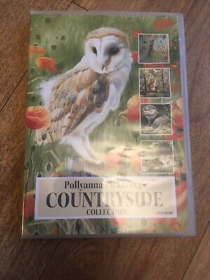Pollyanna Pickering Countryside Collection DVD Rom Card making Craft Cd Animals