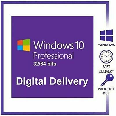 Windows 10 Pro 32/64 Instant delivery Multi lenguaje Original License Key