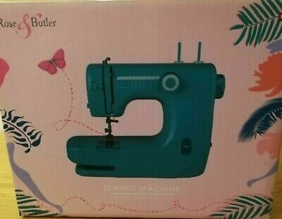 Rose and Butler Sewing Electric Machine Green Colour Boxed Pedal Missing