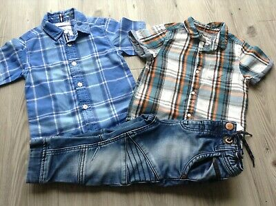 River Island Jasper Conran Next Boys Small Trendy Bundle 18-24Mths Jeans Shirts