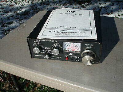 Requires Assembly Manual Tuner Kit w// SWR//Wattmeter MFJ-941EK HF 1.8-30MHz