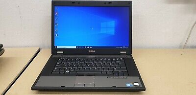 "Core i3 Dell Latitude E5510 Laptop. 2.4GHZ, 8GB, 240GB SSD, 15.6"" Screen, Win 10"