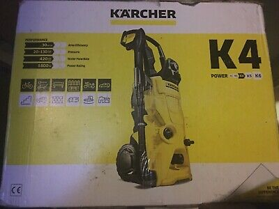 Karcher Pressure washer K4 130 bar, 420 l/h