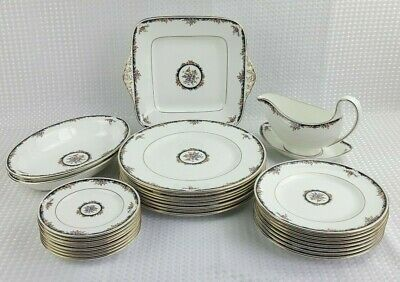 Wedgwood Osborne Bone China Dinner Items - Sold Seperately - Floral Excellent