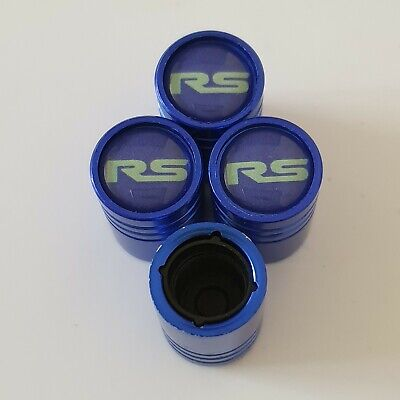 RS BLUE DUST VALVE CAPS 13 colours NON STICK for all Models