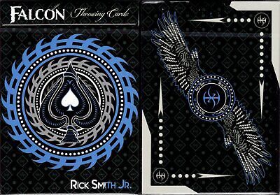 Falcon Throwing Playing Cards Poker Size Deck USPCC Custom Limited Edition New