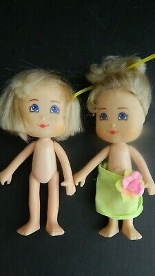 Cute Lot of 2 Remco 1989 Dolls Good Condition, Adorable, and Very Vintage!
