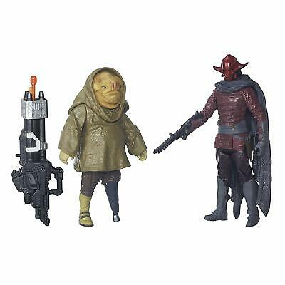 Star Wars: The Force Awakens 3.75 Inch 2 Pack Sidon Ithano and First Mate Quiggo