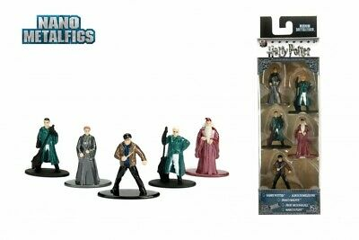 Harry Potter Nano Metalfigs Diecast Mini Figures 5 Pack Wave Figurines Jada Toys