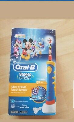 Oral-B Stages Power Kids Rechargeable Electric Toothbrush Disney Mickey Mouse