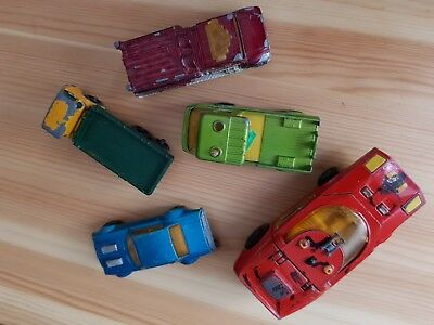 alte Matchbox Autos