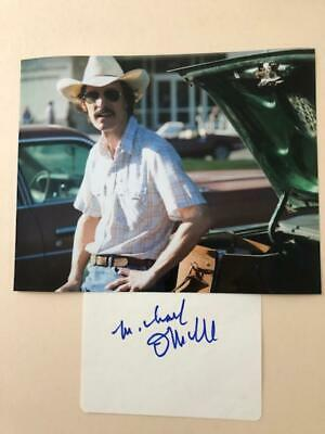 Michael O'Neill 'Dallas Buyers Club' signed - COA - SALE ITEM