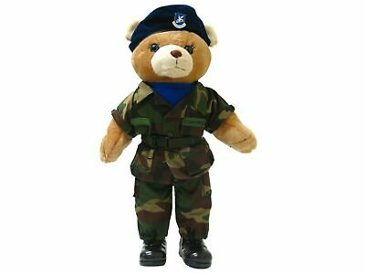 US Air Force (USAF) Security Forces 19in Large Female Teddy Bear