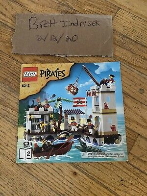 6242 Soldier/'s Fort LEGO PIRATES INSTRUCTION MANUAL ONLY