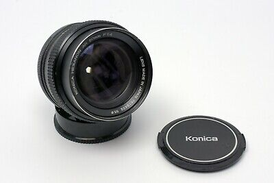 Konica Hexanon AR f/1.4 50mm Prime Lens in Excellent Condition