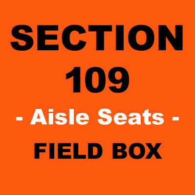 2 METS vs BREWERS - 4/19/2020 - CITI FIELD - FIELD LEVEL - AISLE - TICKETS