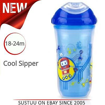 Bpa Free Nuby Thirsty Kids Captain Quench Straw Beaker Boys colour age 18m