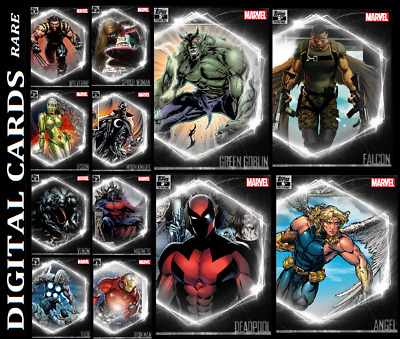 Topps Marvel Collect Ultimate Universe 3Rd Printing [Set 12 Rare Cards]
