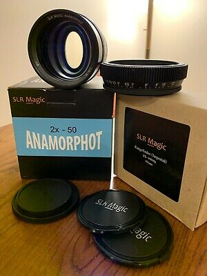 SLR Magic Anamorphot 2x + Range Finder