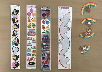 Set Of 4 Vintage Toots Stickers - Cardesign - Toots - Dated 1982/1983