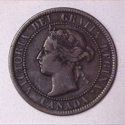 1901 CANADA Large Cent - 1 penny coin