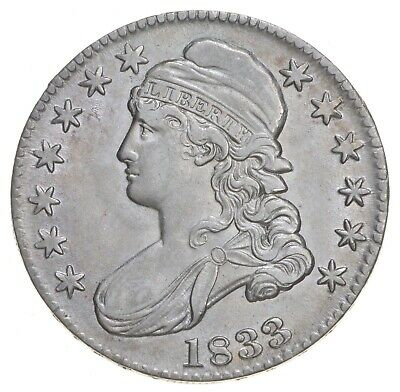 1833 Capped Bust Half Dollar *6781