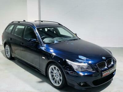 BMW 530i M Sport Touring Auto LCI Black Petrol Estate 5 Series E61 E60 530 2007