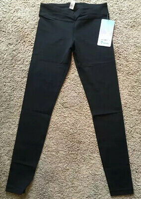Ivivva Girls Size 8 Rhythmic Tight Luxtreme Black BLK Pant Activities Gym Comfy