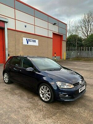 Volkswagen Golf GT MK7 Bluemotion 2.0L 150BHP Manual 2015 5DR Damaged Repaired
