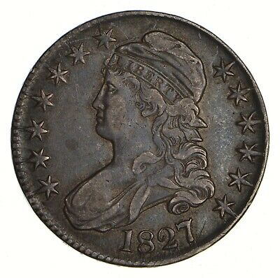 1827 Capped Bust Half Dollar - Circulated *2172