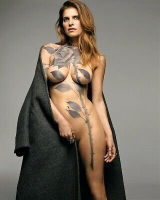 Lake Bell 8x10 Photo Print Sexy American Actress Body Paint (A546)