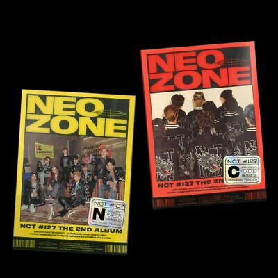 NCT127 NCT #127 Neo Zone 2nd Album CD+Photobook+Photocard+Etc+Tracking Number