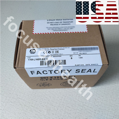NEW *SEALED* Allen Bradley 1769-L16ER-BB1B CompactLogix 384KB Processor US FDA