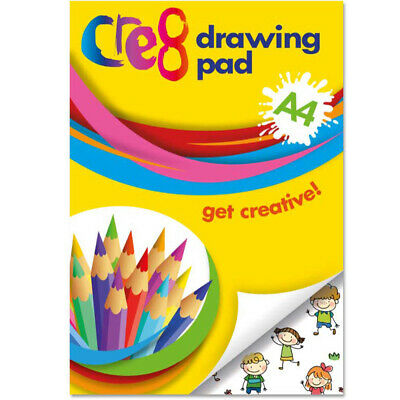 A4 Size White Drawing Pad Paper Artist Sketching  Doodling Art Craft