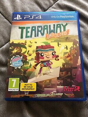 Tearaway Unfolded (PS4), Good PlayStation 4, Playstation 4 Video Games