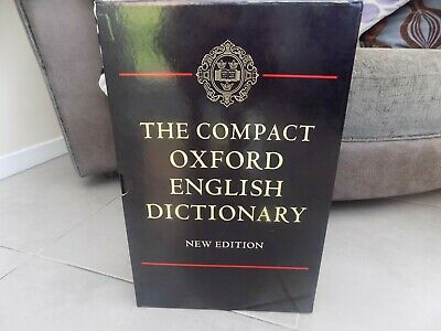 The Compact Oxford English Dictionary New Edition