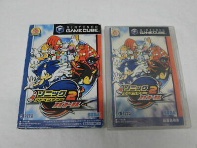 V3907 Nintendo GameCube Sonic Adventure 2 Battle Japan GC w/box