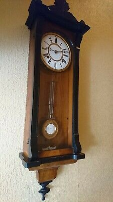 A Fine Antique Vienna Style Wall Clock