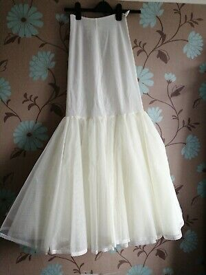 Women's Petticoat Wedding Slip Underskirt Crinoline Prom Dress Bridal Hoop Skirt