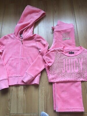 Girls Juicy Couture Tracksuit Age 4