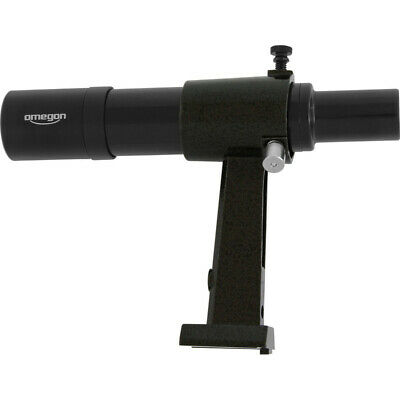 Omegon 6x30 Finder Scope, Black - Provides an Upright, Non-Reversed Image