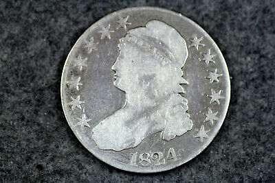 Estate  Find 1824  Capped Bust Half Dollar  #D21406
